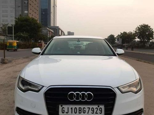 Used 2013 Audi A6 2.0 TDi AT for sale in Ahmedabad