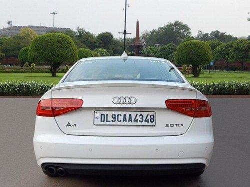 2013 Audi A4 2.0 TDI AT for sale in New Delhi