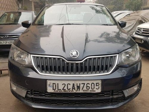 2017 Skoda Rapid 1.6 MPI AT Ambition Plus for sale in New Delhi