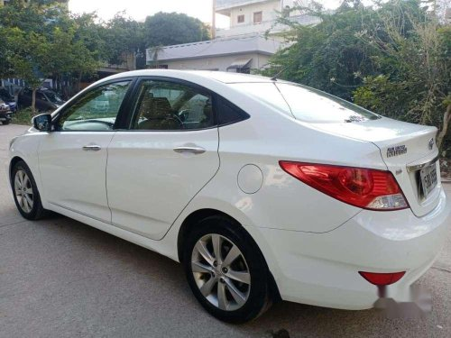 Used Hyundai Fluidic Verna 2012 MT in Hyderabad