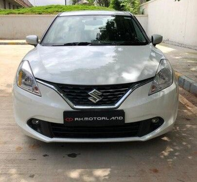 Maruti Suzuki Baleno Zeta 2017 AT for sale in Ahmedabad