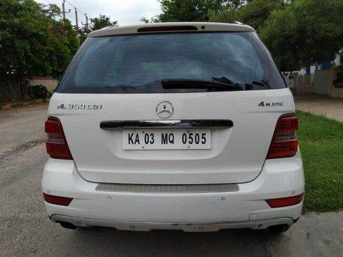 Mercedes-Benz M-Class ML 350 4Matic 2012 AT in Bangalore