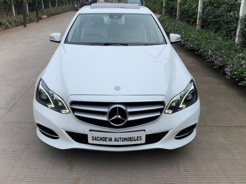 Used 2014 Mercedes Benz E Class AT for sale in Indore