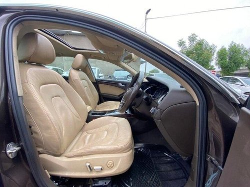 Used Audi A4 2.0 TDI 2014 AT for sale in Ahmedabad