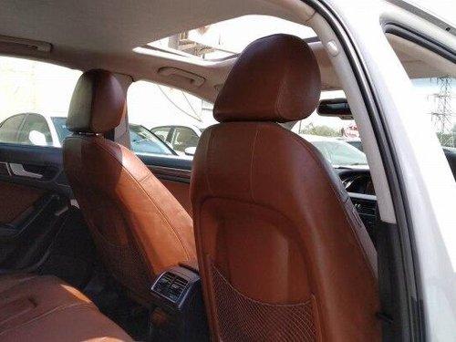 Audi A4 2.0 TDI Multitronic 2012 AT in Ahmedabad