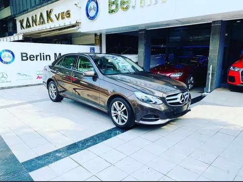 Used 2014 Mercedes Benz E Class AT for sale in Pune