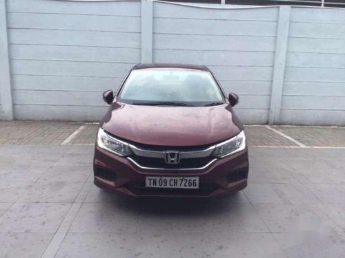 Used Honda City 2017 MT for sale in Chennai