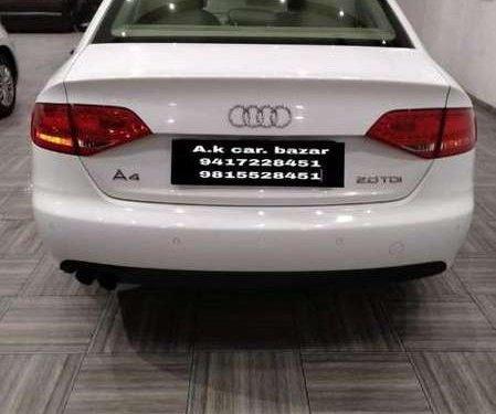 Audi A4 2.0 TDI 2011 AT for sale in Ludhiana