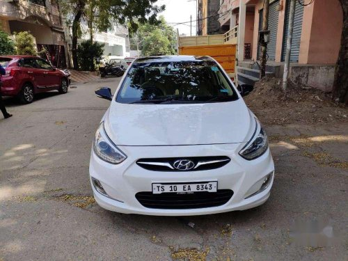2014 Hyundai Fluidic Verna AT for sale in Hyderabad