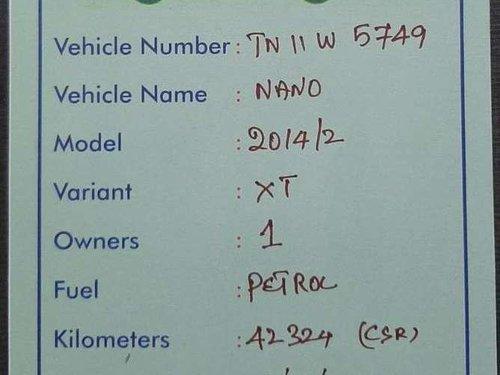 Used Tata Nano Twist XT 2014 MT for sale in Erode