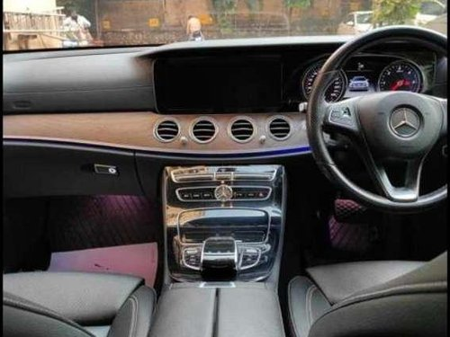 2017 Mercedes Benz E Class AT for sale in Mumbai
