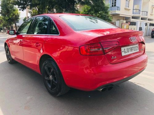 2014 Audi A4 2.0 TDI Multitronic AT in Ahmedabad