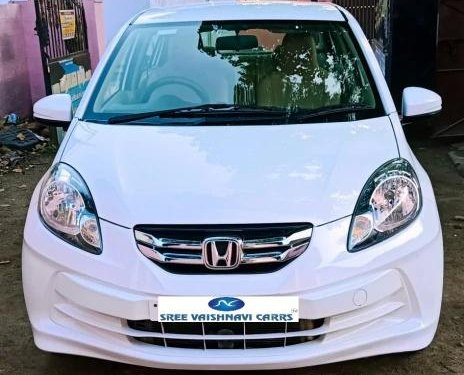 Used Honda Amaze S i-Dtech 2016 MT for sale in Coimbatore