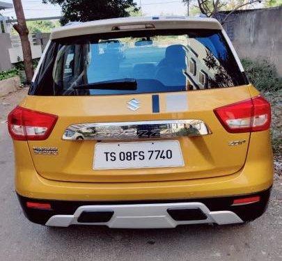 2017 Maruti Suzuki Vitara Brezza MT for sale in Hyderabad