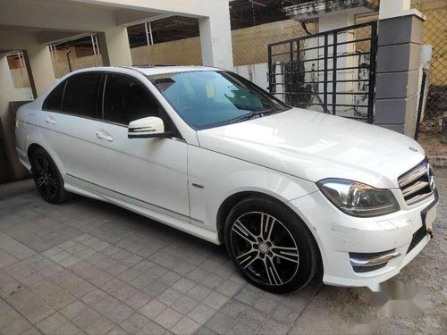 2014 Mercedes Benz C-Class AT for sale in Hyderabad