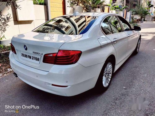Used 2015 BMW 5 Series AT for sale in Hyderabad