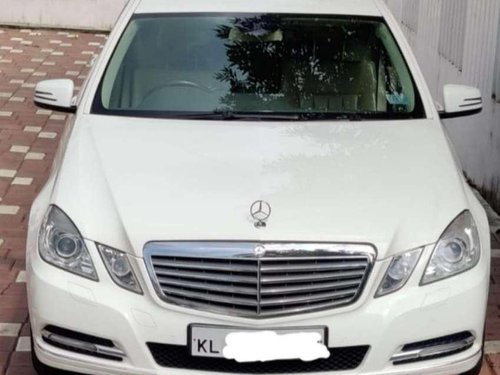 Used Mercedes Benz E Class 2011 AT for sale in Kochi