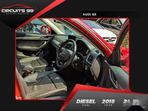 Used 2018 Audi Q3 AT for sale in Pondicherry