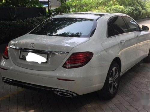 Used Mercedes Benz E Class 2018 AT for sale in Kochi