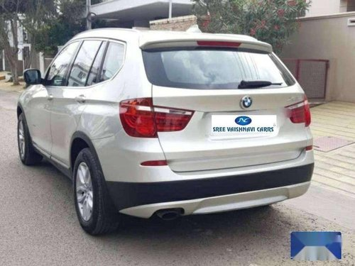 BMW X3 xDrive 20d xLine 2012 AT for sale in Coimbatore