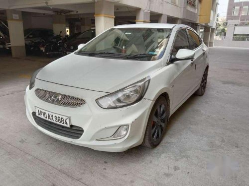 Used Hyundai Fluidic Verna 2011 MT in Hyderabad