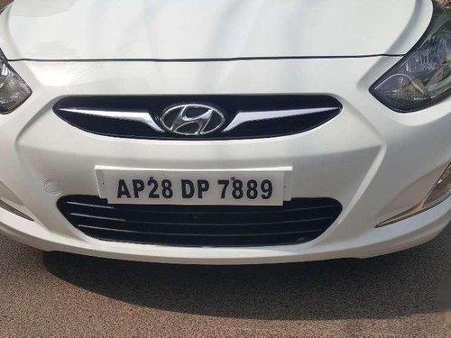 Hyundai Fluidic Verna 2012 MT for sale in Hyderabad