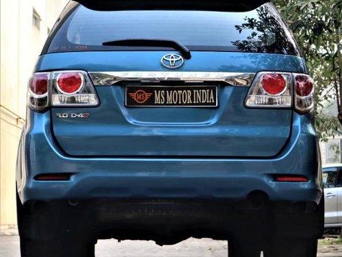 2012 Toyota Fortuner 3.0 Diesel MT for sale in Kolkata