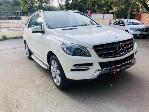 Used 2014 Mercedes Benz M Class ML 320 CDI AT for sale in Bangalore