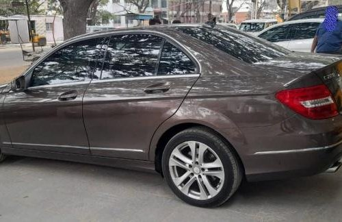 Used 2013 Mercedes Benz C-Class AT for sale in Bangalore -5