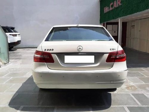 Used 2012 Mercedes Benz E Class AT for sale in New Delhi