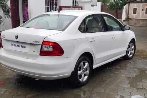 Used Skoda Rapid 1.6 TDI Elegance 2014 MT in Coimbatore