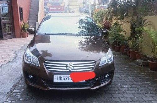 Used Maruti Suzuki Ciaz 2017 MT for sale in Dehradun