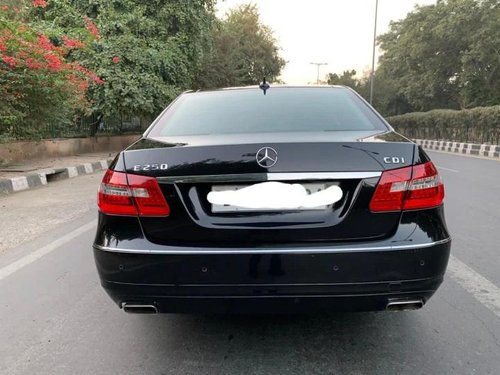 Used 2013 Mercedes Benz E Class AT for sale in New Delhi