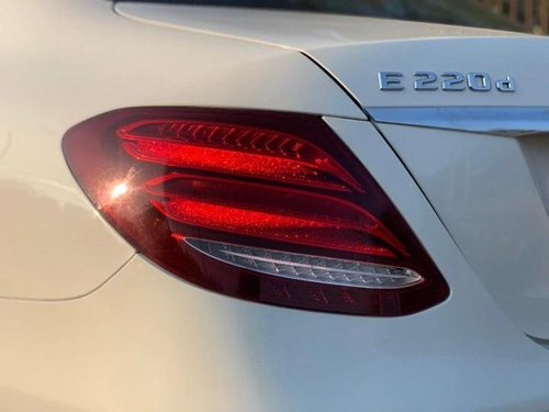 Used Mercedes Benz E Class 2017 AT for sale in New Delhi