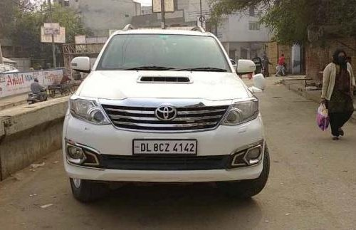 Used 2013 Toyota Fortuner MT for sale in New Delhi