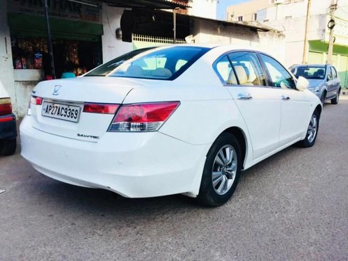 Used 2009 Honda Accord AT for sale in Hyderabad