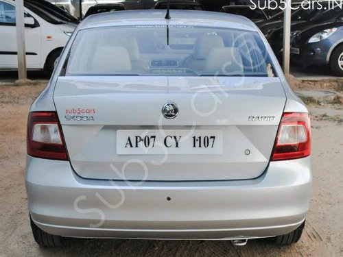 Used 2016 Skoda Rapid AT for sale in Hyderabad