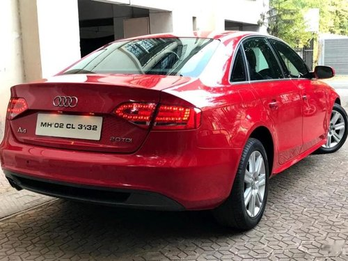 Used Audi A4 2.0 TDI Multitronic 2012 AT for sale in Pune