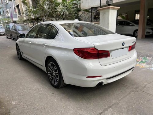 Used 2017 BMW 5 Series AT for sale in Hyderabad