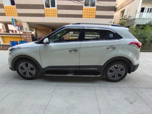 Used Hyundai Creta 1.6 CRDi SX Plus 2017 MT in Hyderabad