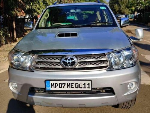 Used Toyota Fortuner 2010 MT for sale in Bhopal
