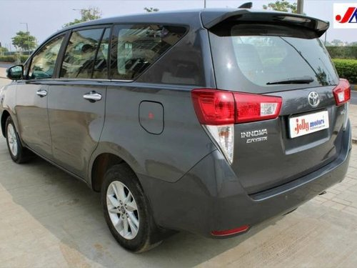 Used 2018 Toyota Innova Crysta 2.4 VX MT in Ahmedabad
