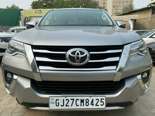 Used 2018 Toyota Fortuner MT for sale in Ahmedabad
