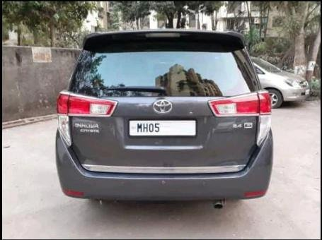Used 2018 Toyota Innova Crysta MT for sale in Thane