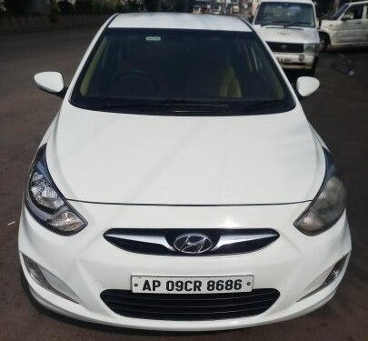 Hyundai Verna 2013 AT for sale in Hyderabad