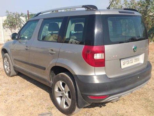Skoda Yeti Ambition 4WD 2012 MT for sale in Hyderabad