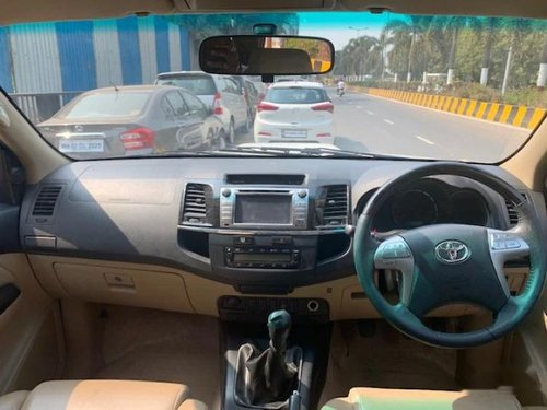 Used 2015 Toyota Fortuner MT for sale in Mumbai