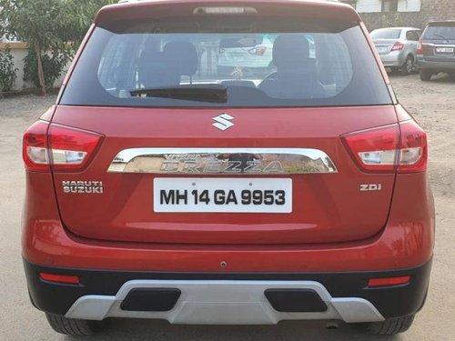 Used Maruti Suzuki Vitara Brezza ZDi 2017 MT for sale in Pune