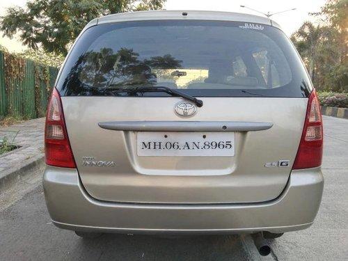 Used Toyota Innova 2008 MT for sale in Mumbai