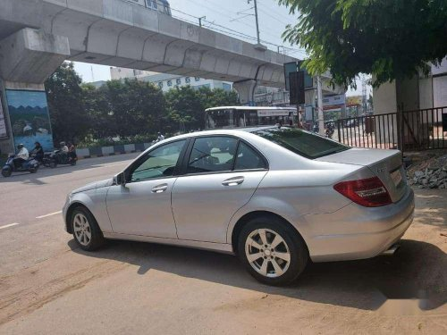 Used Mercedes Benz C-Class 2014 AT for sale in Hyderabad